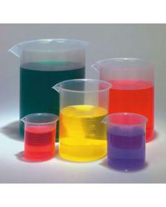Beaker, 500ml Polypropylene, Pack of 6