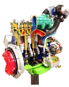 Turbo Diesel Truck Engine, Inline-4, Indirect Injection, without Gearbox