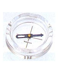 Compass Magnetic Quarter Scale, Transparent Plastic