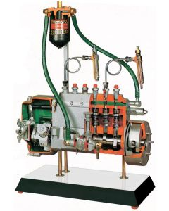 Injection Pump with 6 Inline Cylinders