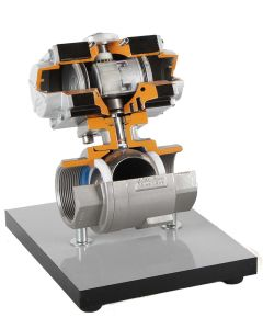 Hydraulic/Pheumatic Ball Valve