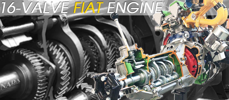 16-Valve FIAT Engine