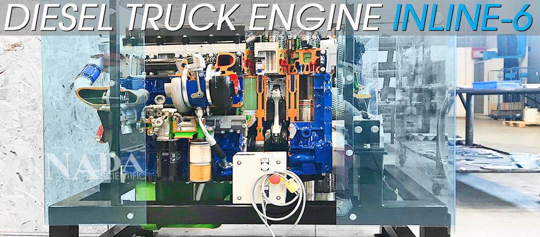 Diesel Truck Engine Inline-6