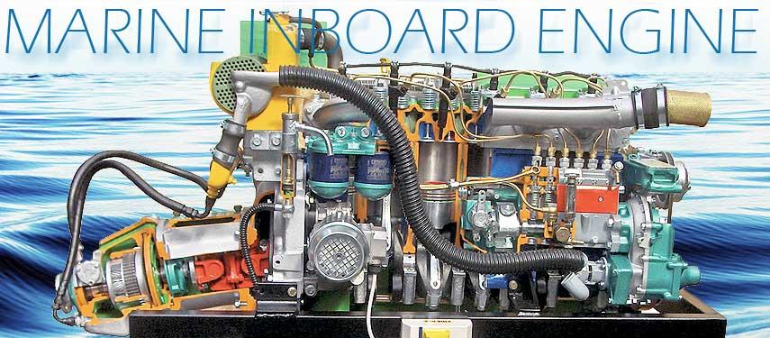 Marine Inboard Engine