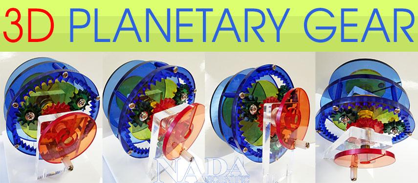 3D Planetary Gear Model