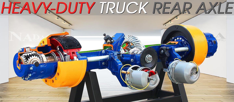 Heavy-Duty Truck Rear Axle