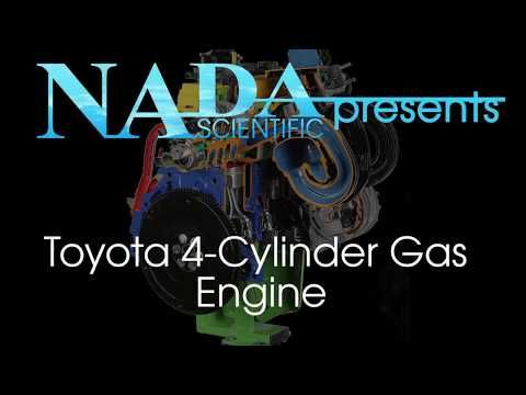 Toyota 4-Cylinder Gas Engine with Variable Valve Timing with