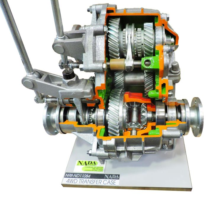 4WD Transfer Case with Locking Differential - NADA Scientific