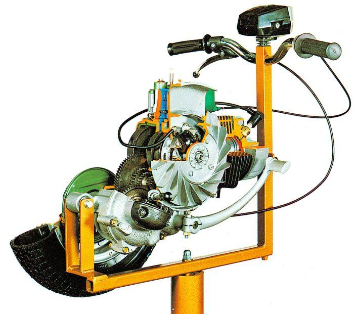 Motorcycle Engine, 2-Stroke, Vespa - NADA Scientific